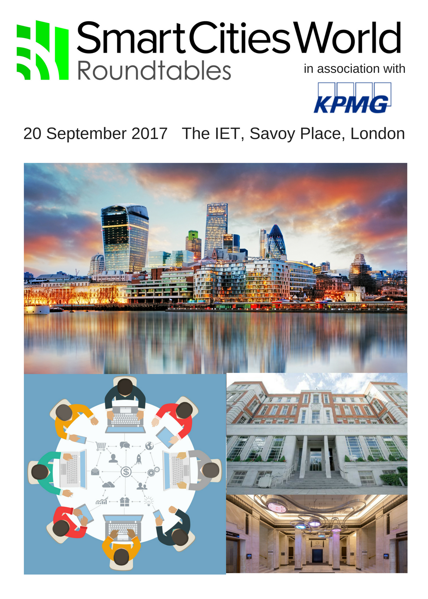 Smart Infrastructure Round Table Discussions - 20 September 2017
