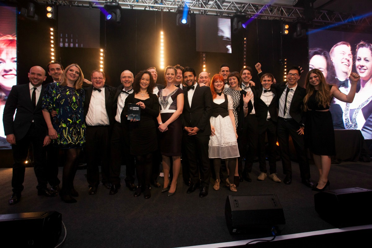 The Arup lighting team lights up the Lighting Design Practice of the Year