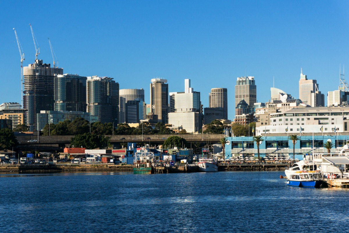 Companies in the Barangaroo precinct in Sydney can connect to the IoT network