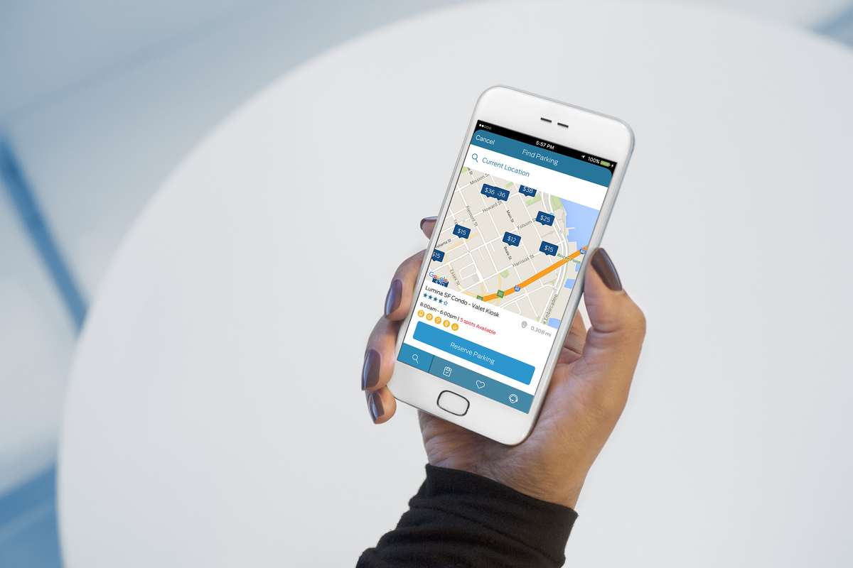 FordPass runs on a smartphone and aims to take the pain out of parking for US drivers