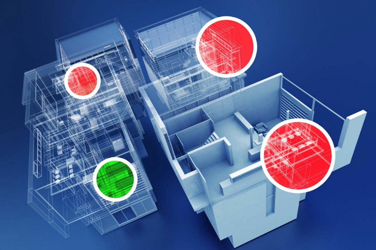 Sensing solution provides analytics to enhance a building's operational efficiency