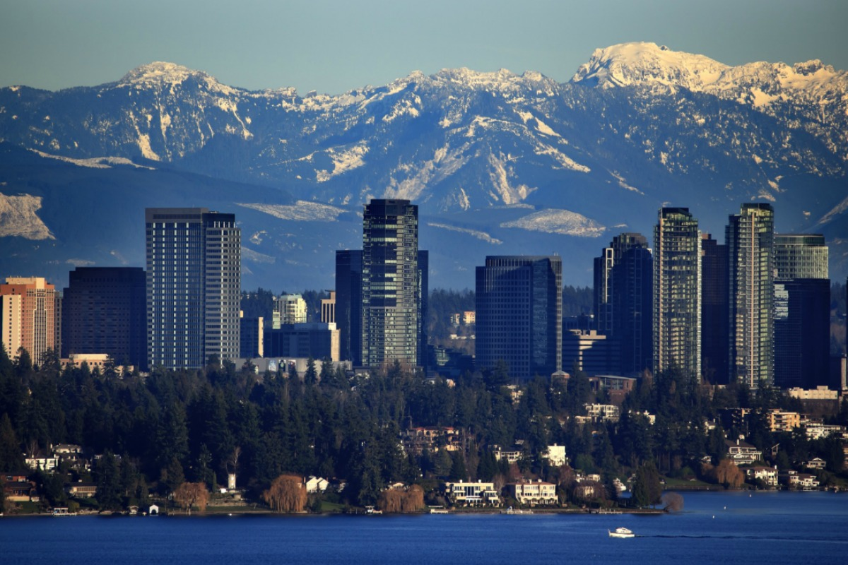 Bellevue, known as a 'city in a park', is helping to lead the way to smart in the US