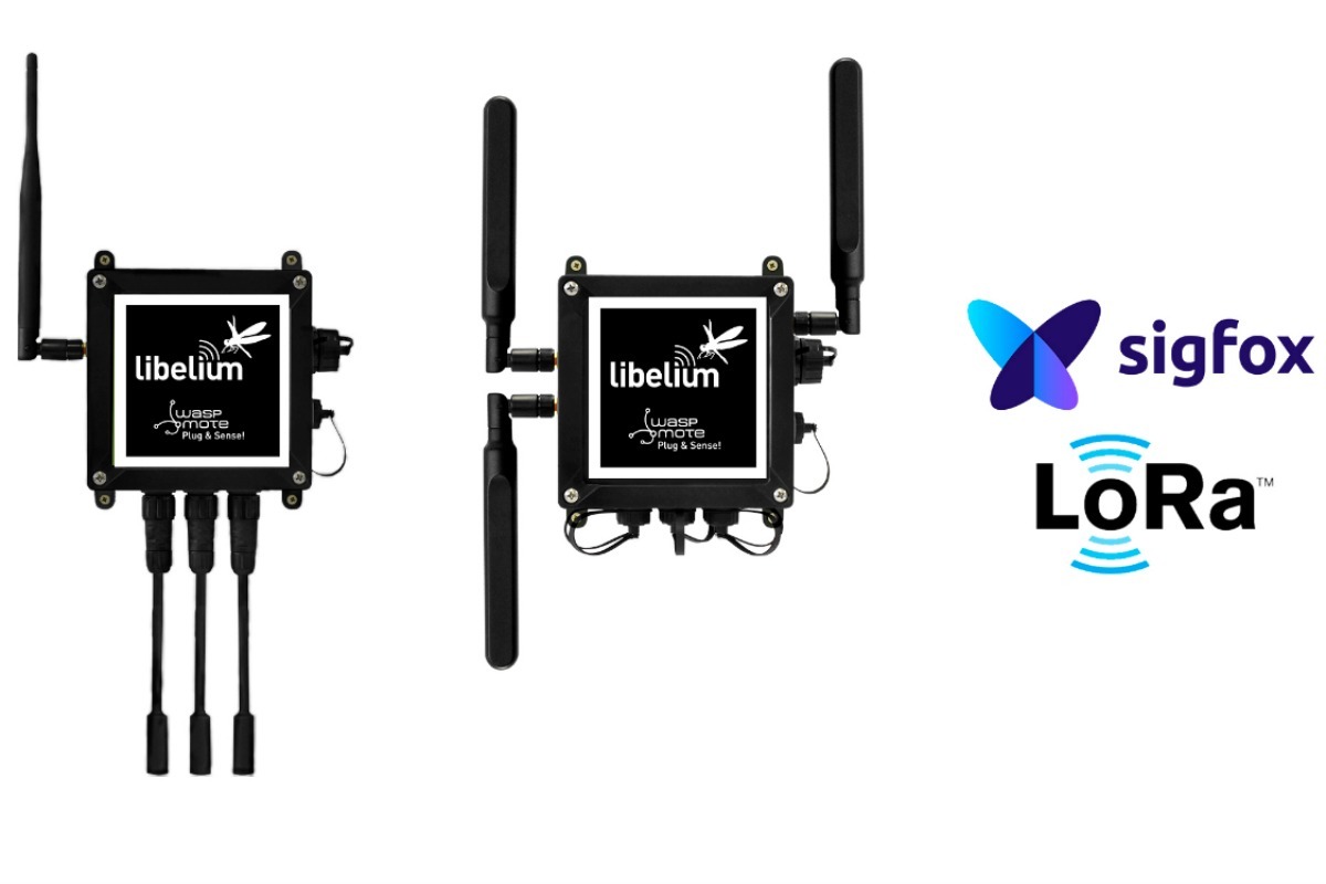 Waspmote Plug & Sense! is now available in the US with LoRaWAN and Sigfox connectivity