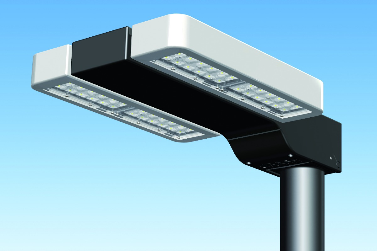 "The new LED luminaire which claims to be smart city ready, ""off the shelf"""