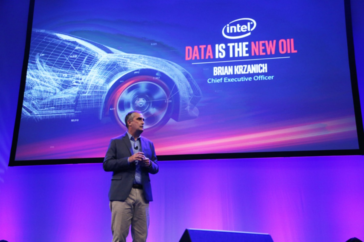 "Krzanich: ""data is truly the new currency of the automotive world"""