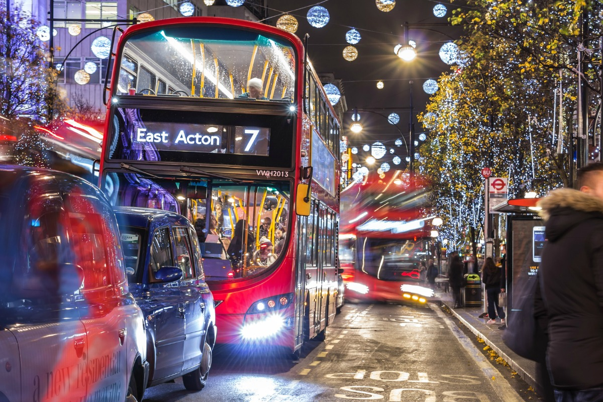 London was identified as having 12,776 traffic hotspots and the highest impact factor