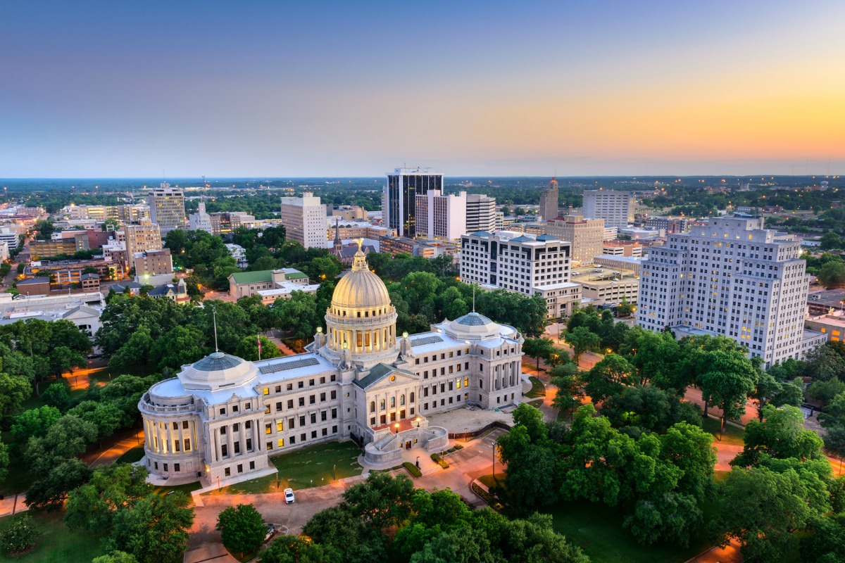 Jackson, Mississippi, is one of 10 cities that is taking part in Envision America 2017