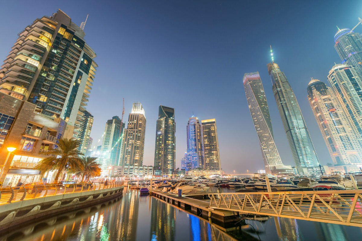 The government wants to position Dubai as a blockchain hub