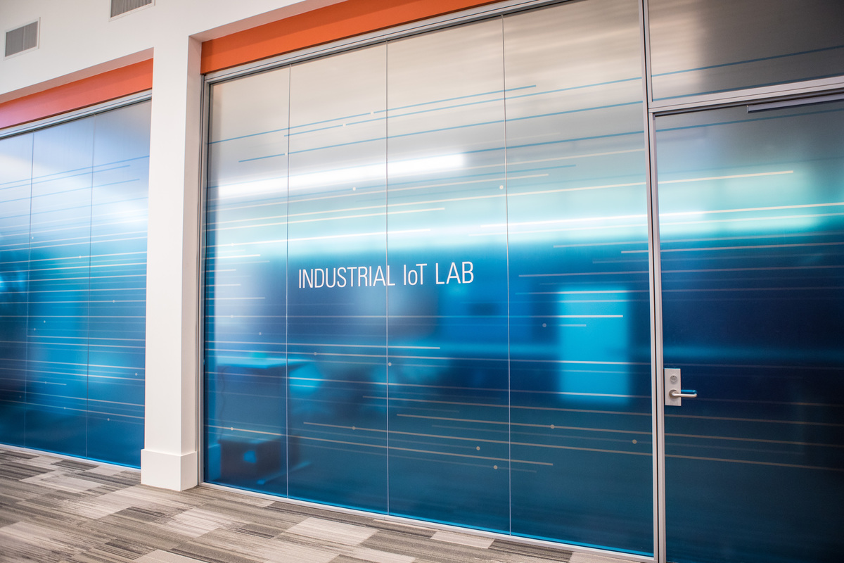 The lab aims to be a working showcase for IIoT technologies