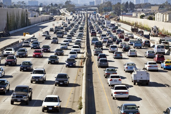 LA named as most traffic clogged city in the world