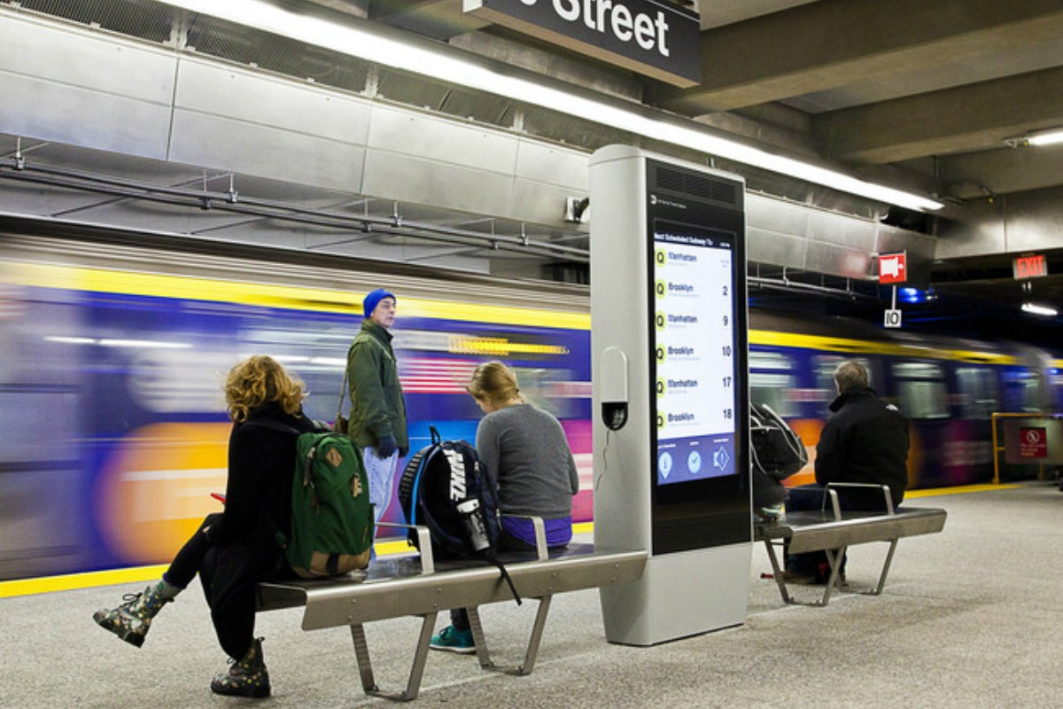 New York subway users are benefiting from state-of-the-art urban technology