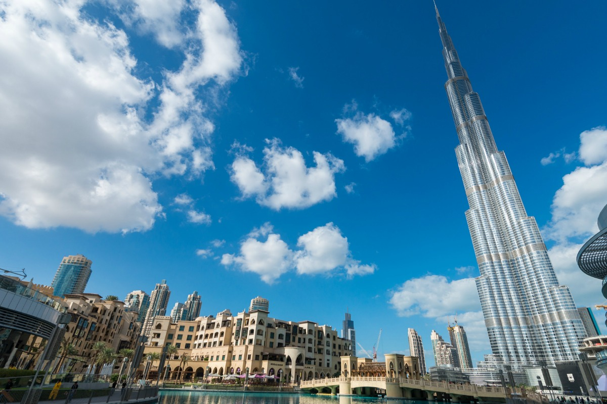 Buildings such as Burj Khalifa in Dubai showcase state-of-the-art innovation, sasy WEF