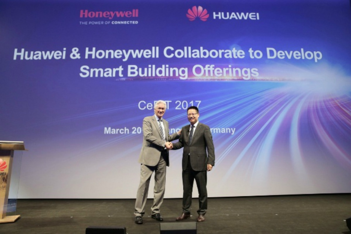 Huawei and Honeywell announce their smart buildings collaboration at CeBIT in Hannover