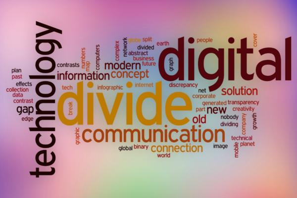 """Digital divide is now a digital chasm"""