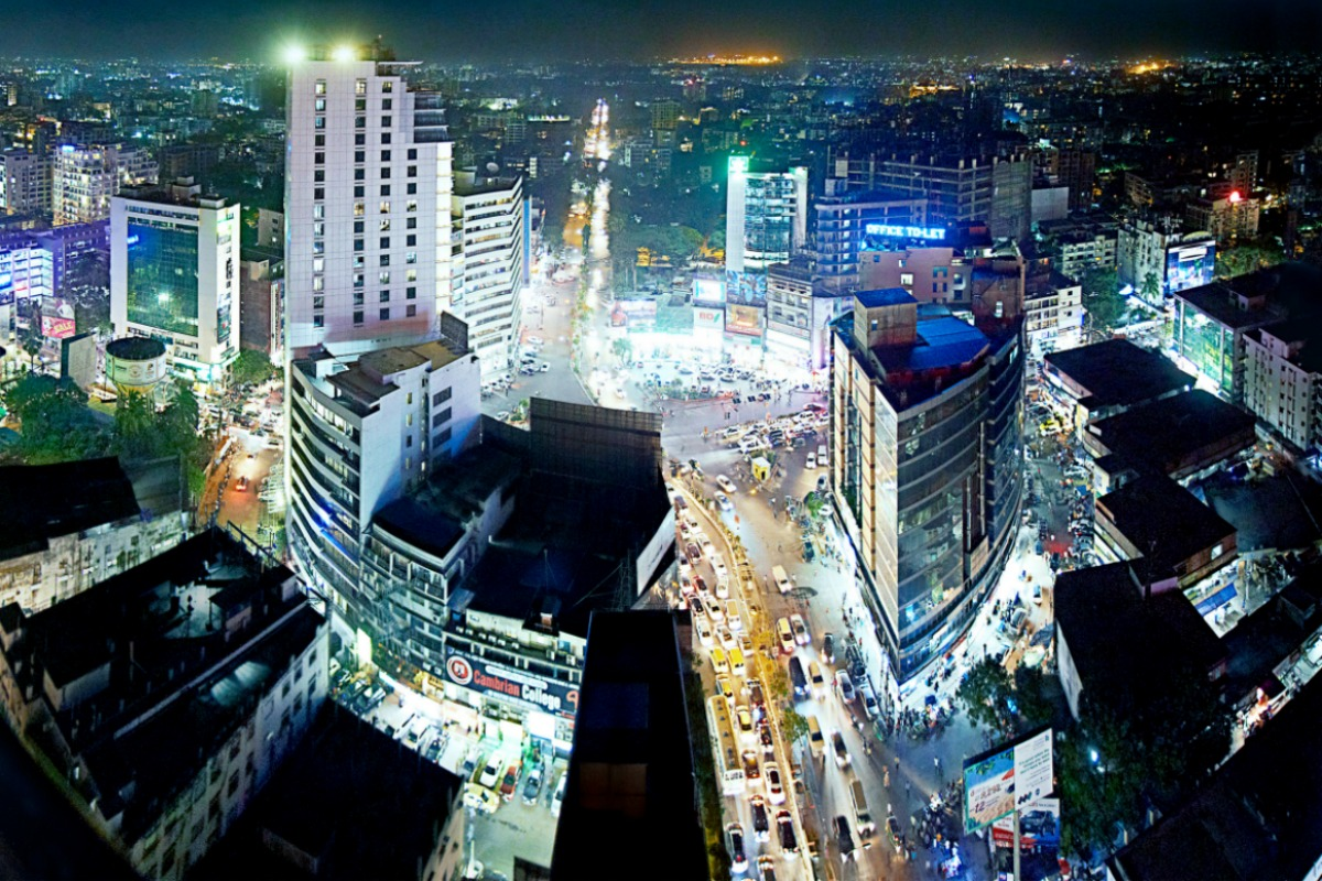 Bangladesh's capital, Dhaka, one of the world's most populated cities