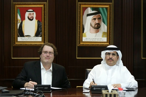 Dewa signs smart grid deal