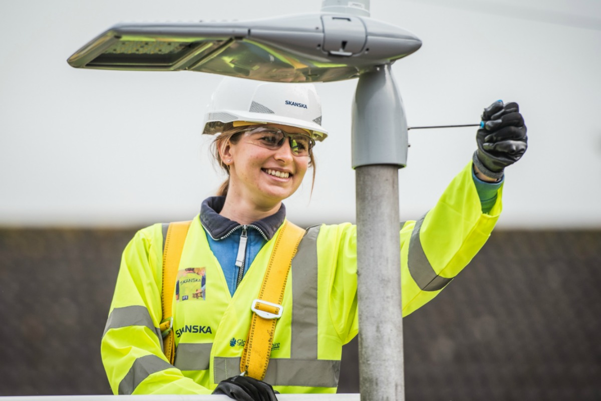 Telensa has a global footprint of over one million devices across the world. Picture: Skanska UK
