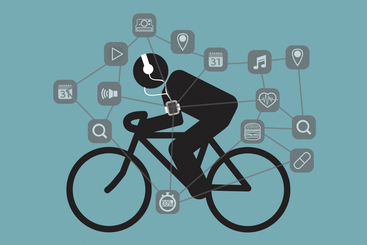 Topically, data is even helping us to find a bike to ride