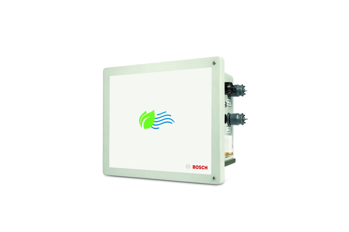 The Intel-based Bosch air quality monitoring system, built to withstand rugged conditions