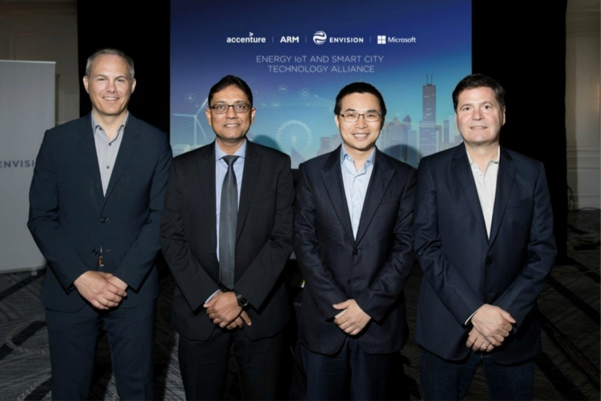 Envision, Microsoft, Accenture and ARM launch the Energy IoT and Smart City Technology Alliance