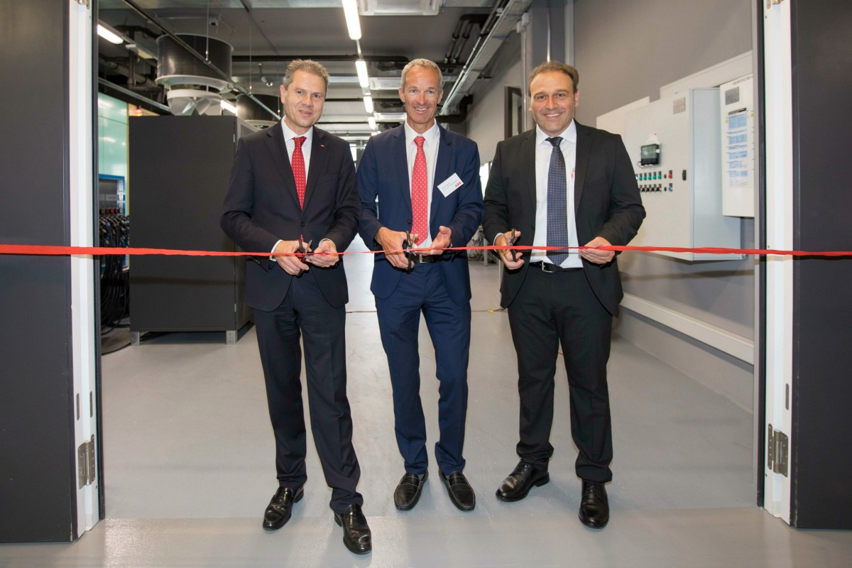 ABB gave a live demonstration of the test facility's capabilities at its opening