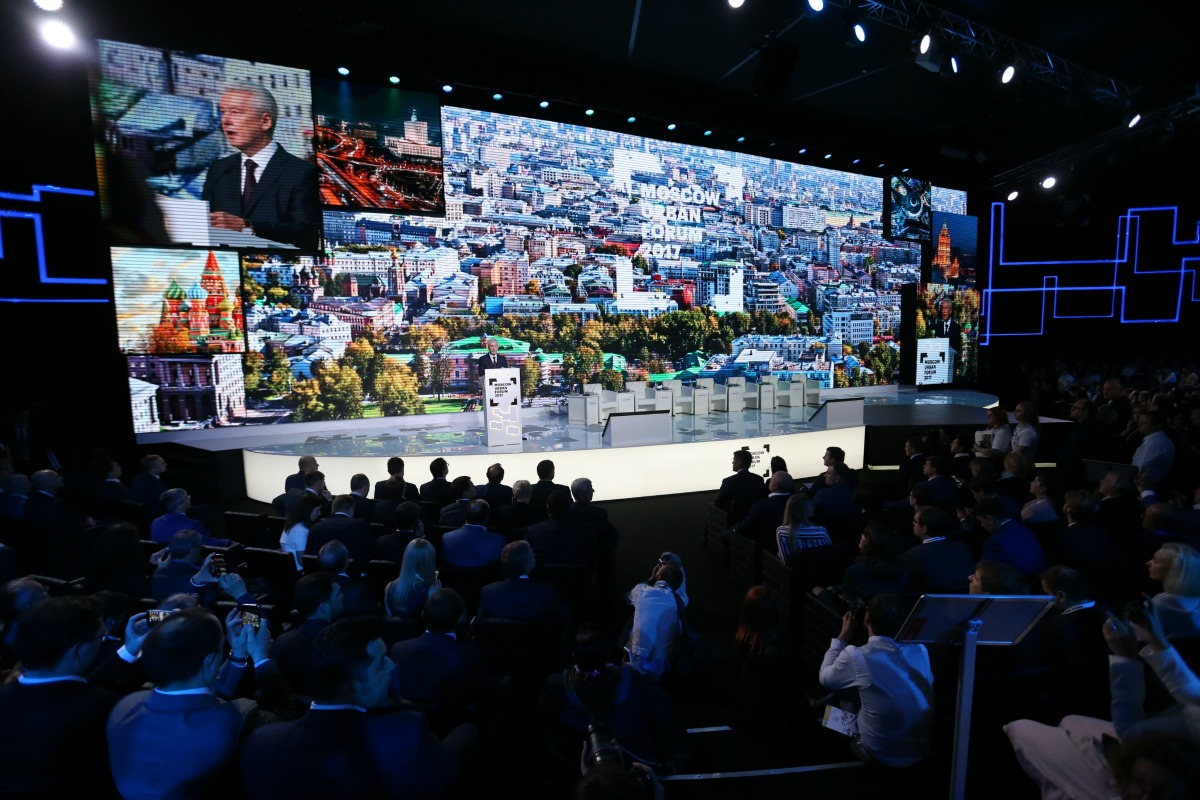 More than 50,000 visitors attended the Moscow Urban Forum