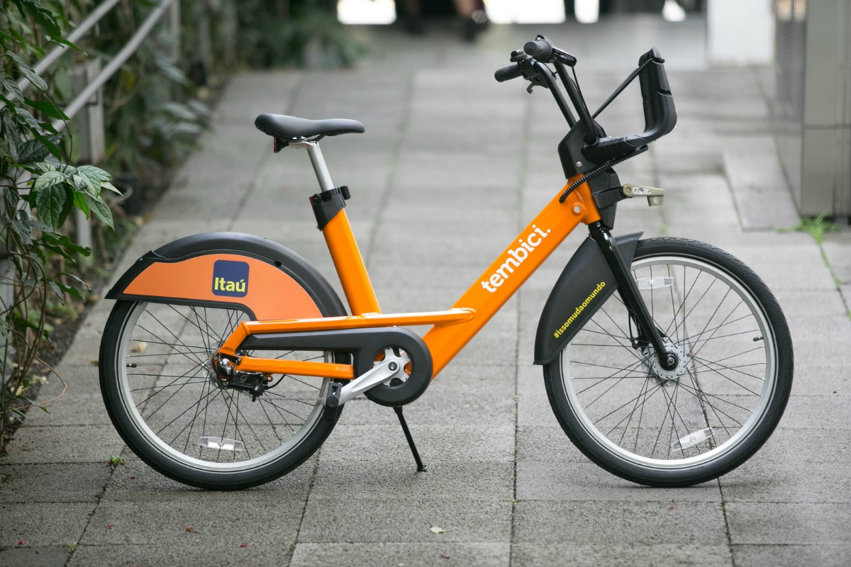 In total, 8,000 bikes and 680 stations will be deployed across Brazilian cities