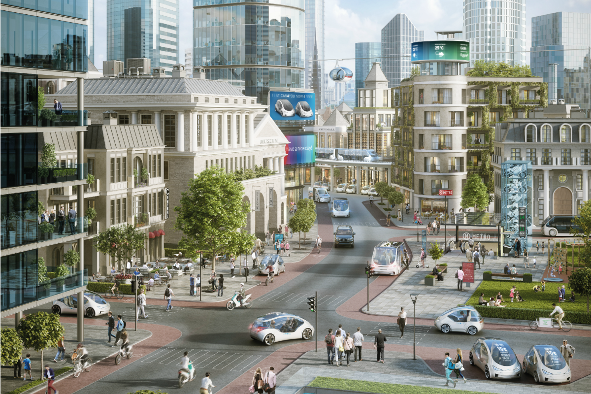 Bosch believes no megacity will work without smart traffic and a new model for mobility
