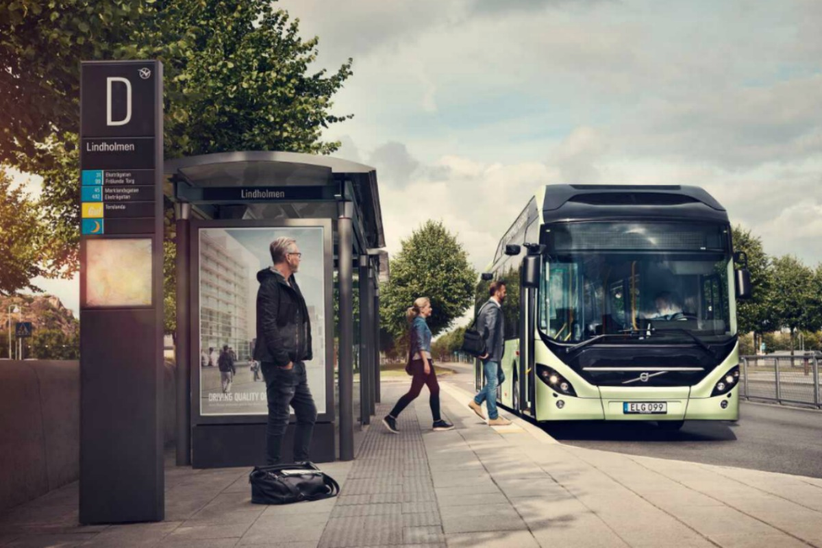 "Electric buses are helping Gothenburg create ""the public transport of the future"""