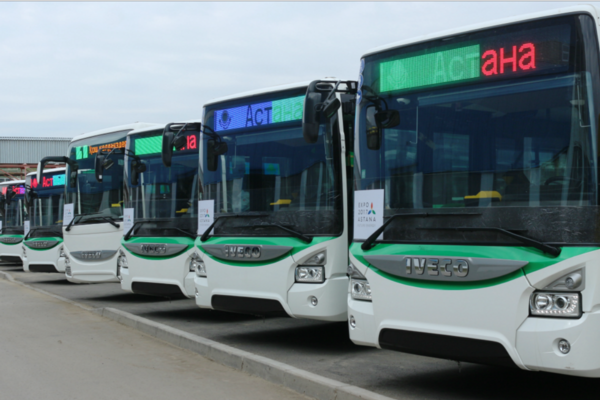 Iveco exports buses to Kazakhstan