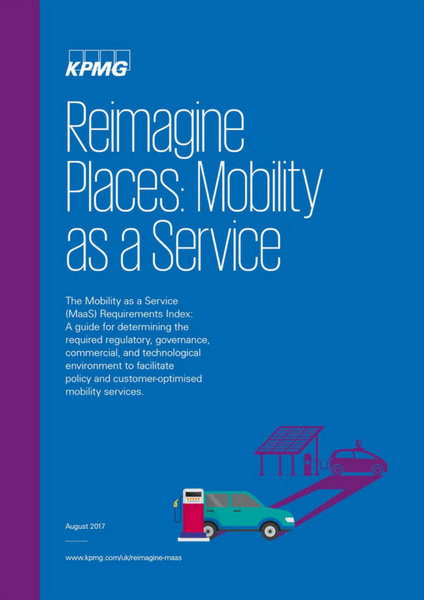 Mobility as a Service KPMG Front Cover