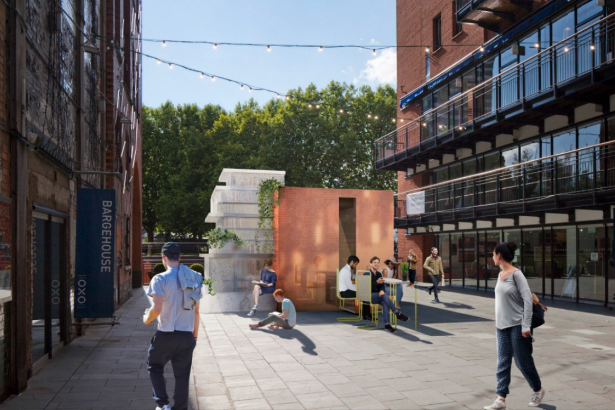 The Mini Living Urban Cabin can be seen on the Southbank between 16-24 September
