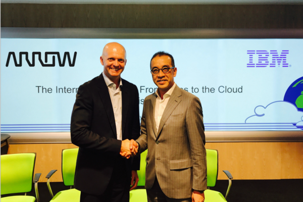 Arrow integrates Watson in IoT push