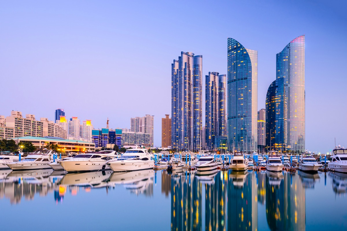 Busan in South Korea is one of the recipient cities in IBM's challenge