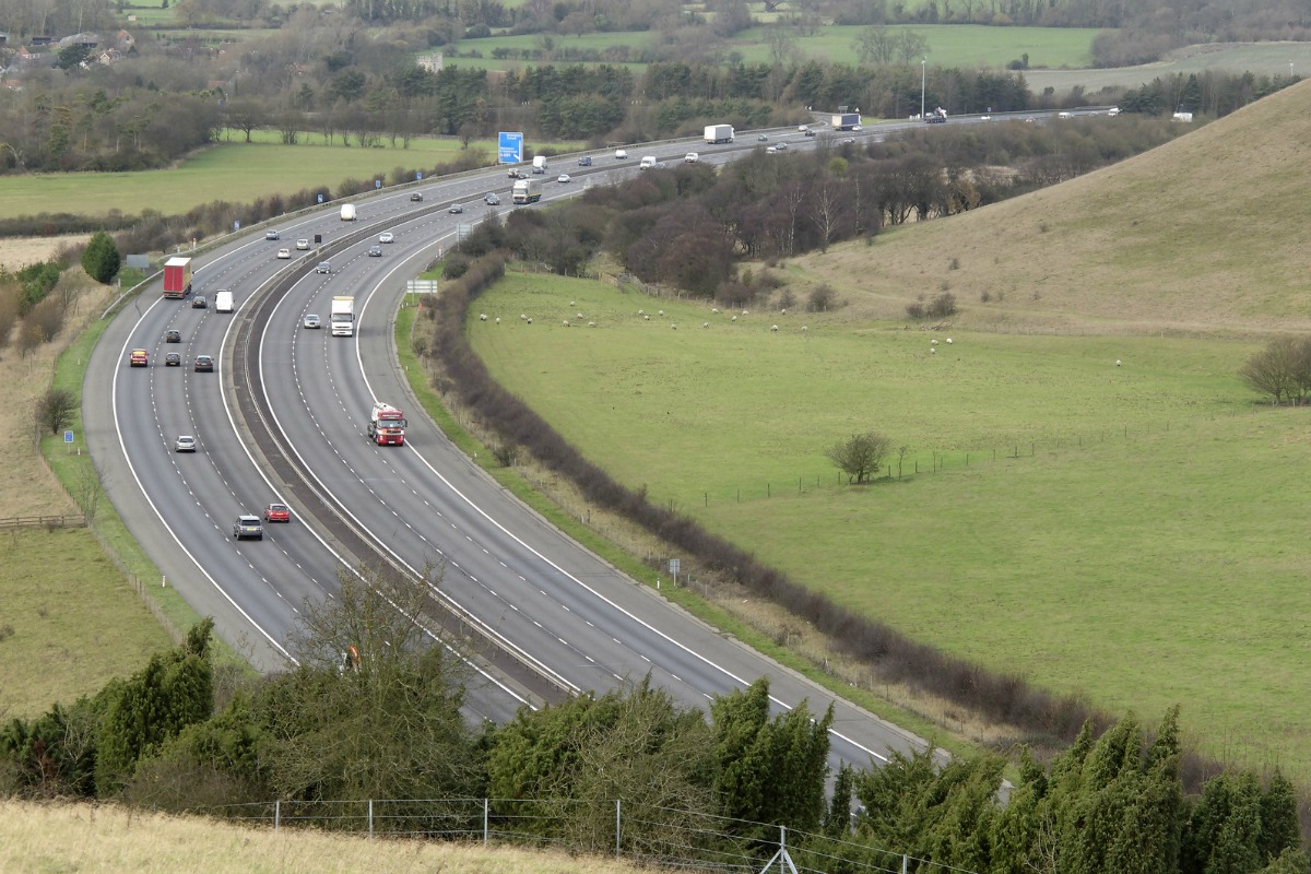 The project focuses on a critical transport link in the UK's national infrastructure