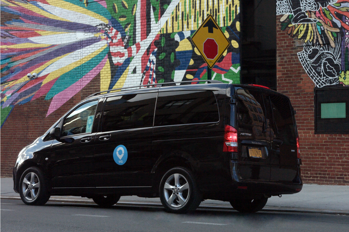 Via and Daimler's on-demand shuttle service can be licensed to municipalities