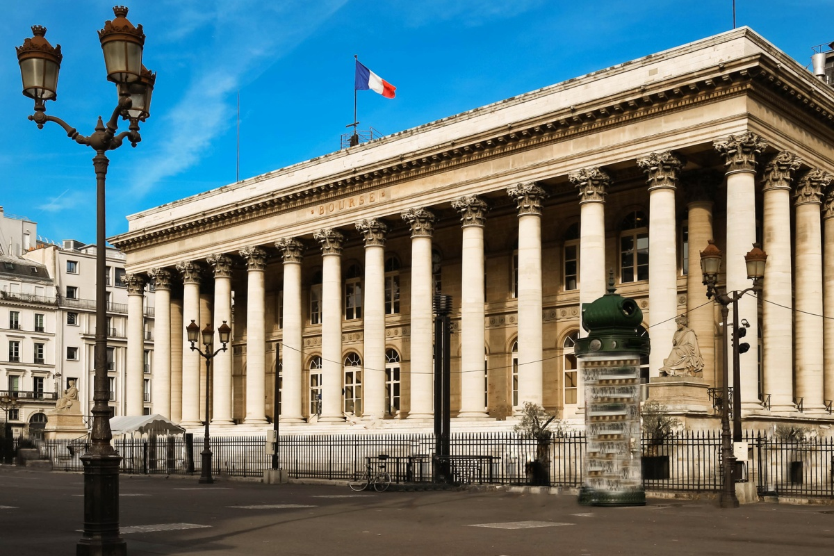 Palais Brongniart, the former French stock market, is the location for CES Unveiled Paris