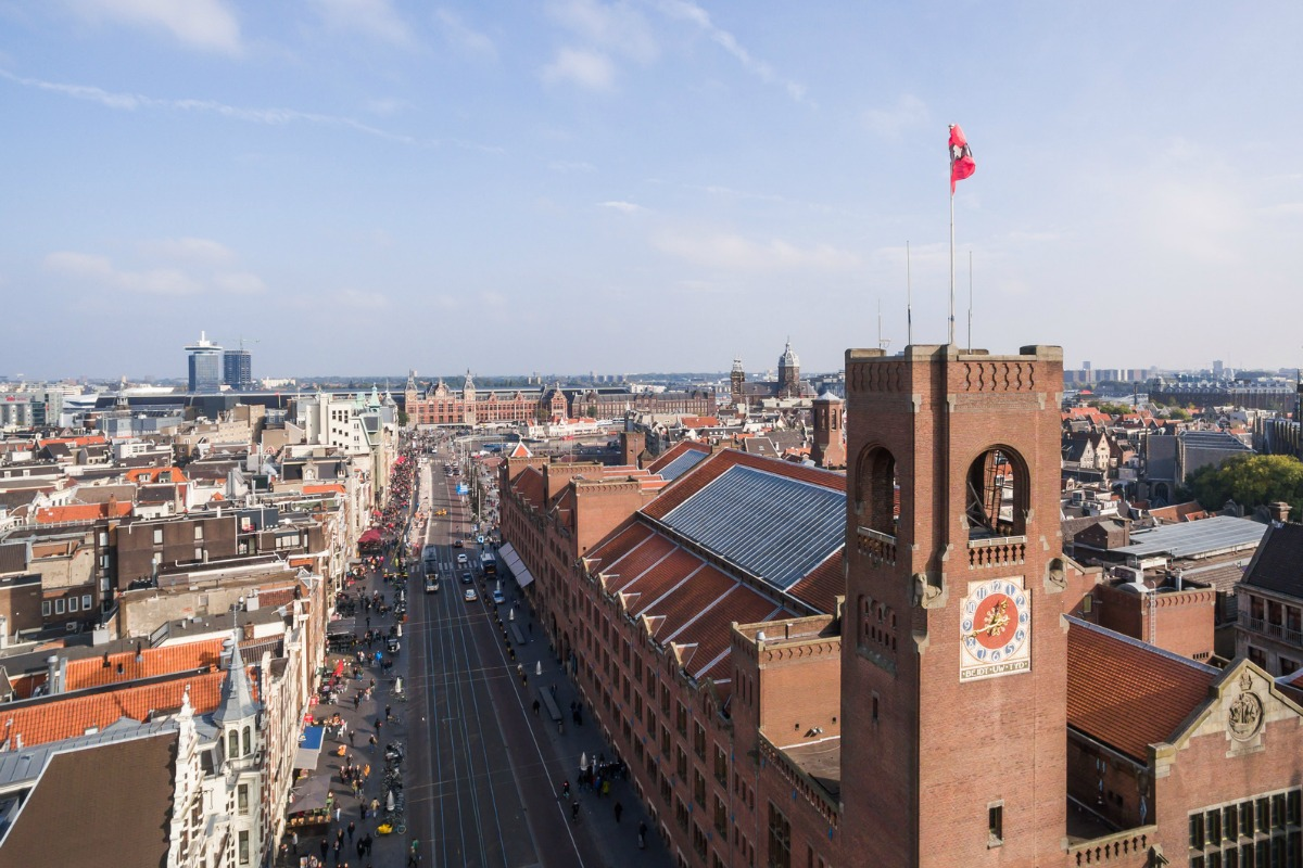 CES Unveiled Amsterdam takes place at the historic Beurs van Berlage in the city