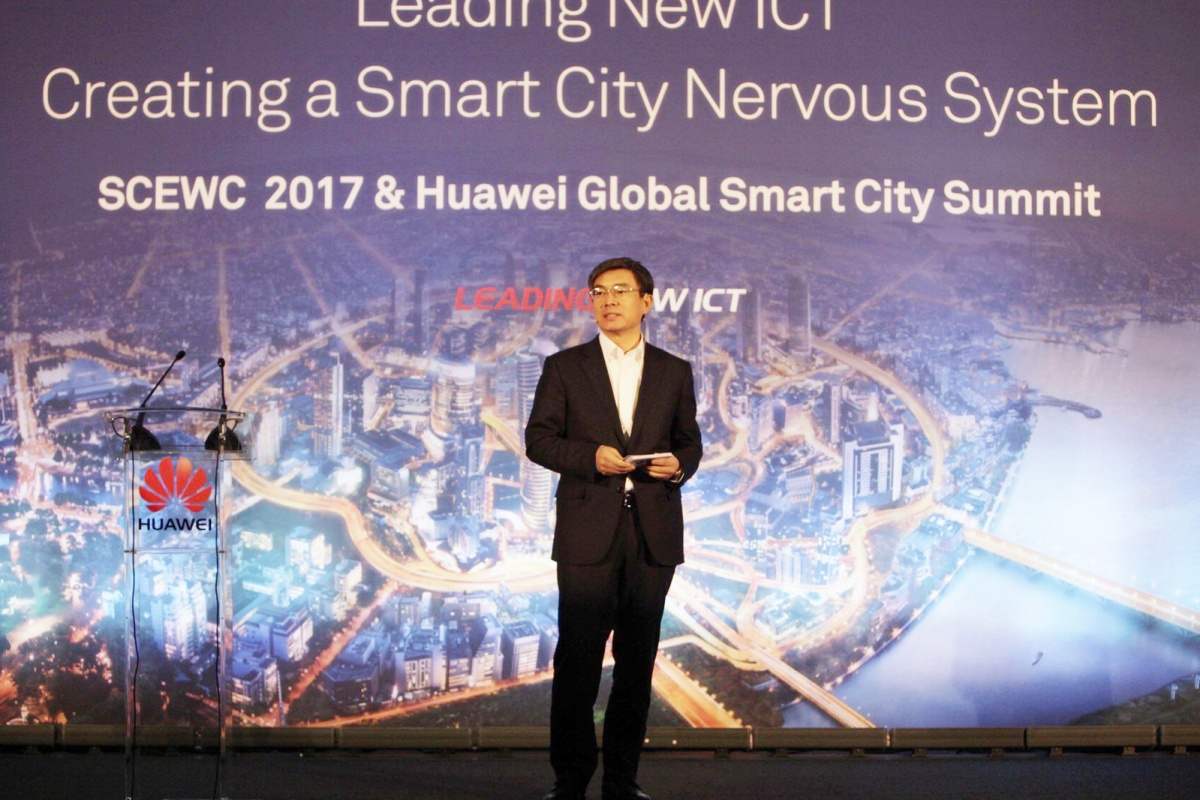 "Lida: ""Huawei is committed to creating a strong nervous system that powers smart cities"""