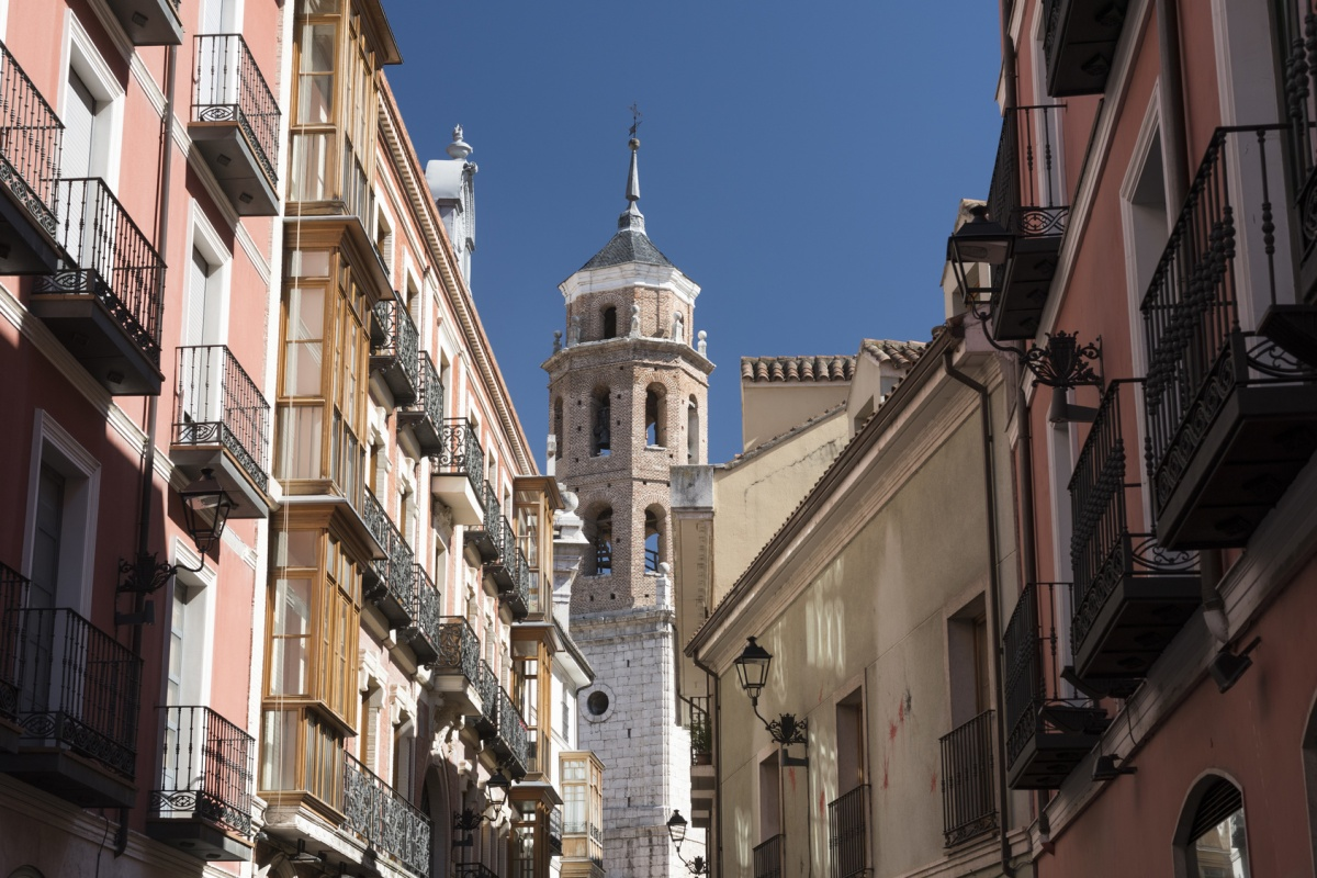 Valladolid in Spain is one of the Lighthouse cities