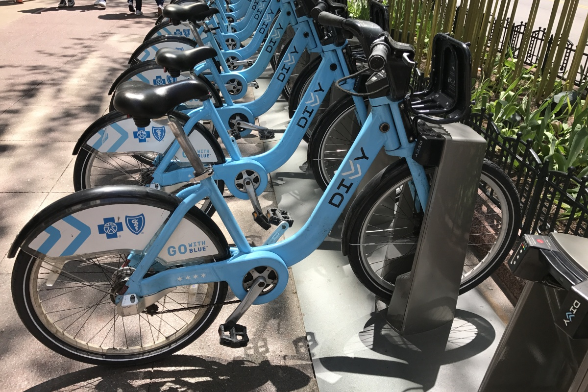 Bike-share schemes need to work as well or better than existing public transport options