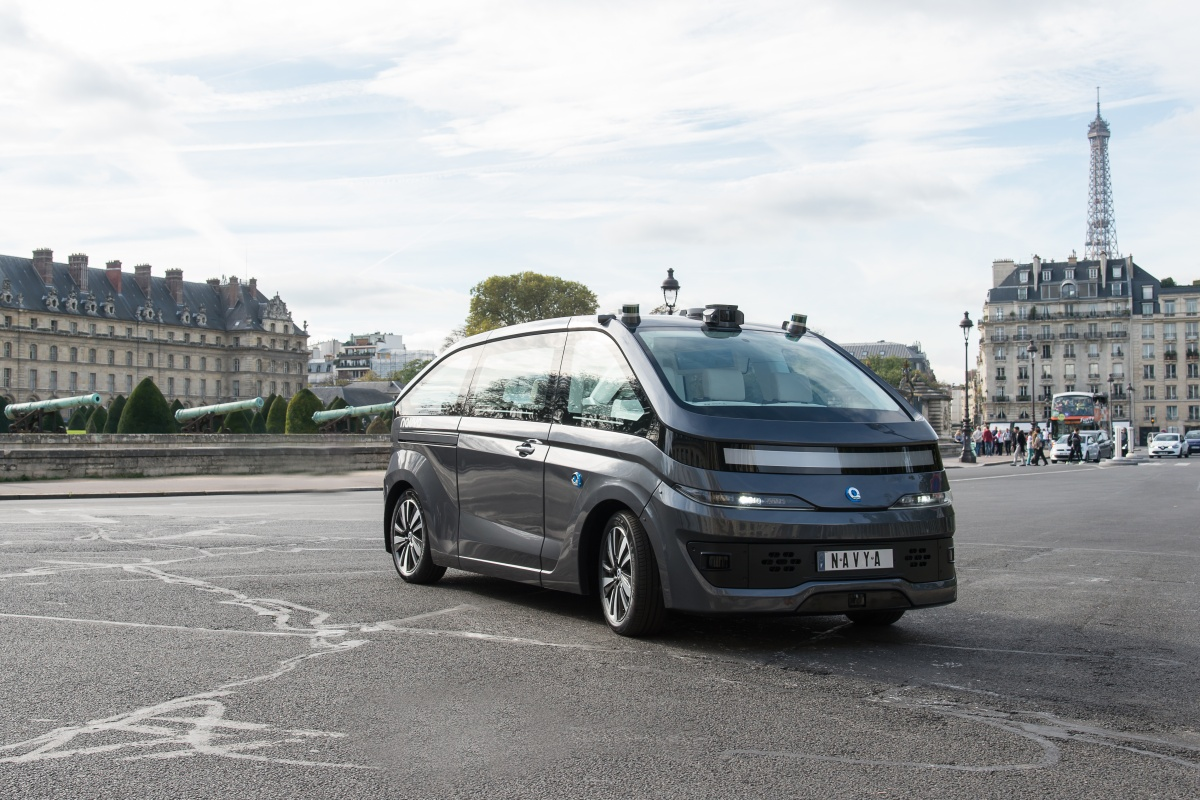 Autonom Cab was designed from the outset to be autonomous, like others in the range