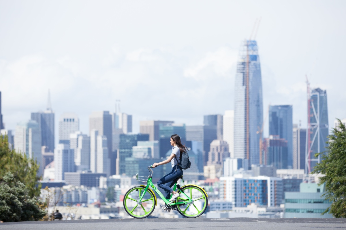 LimeBike was recognised for its vision to revolutionise mobility