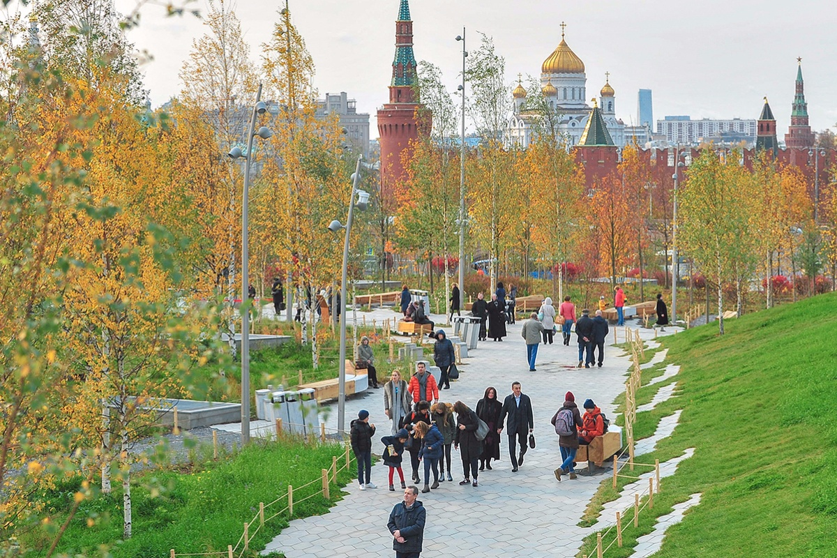 Citizens used the Active Citizen e-voting system to name Zaryadye Park. Picture: Mos.ru
