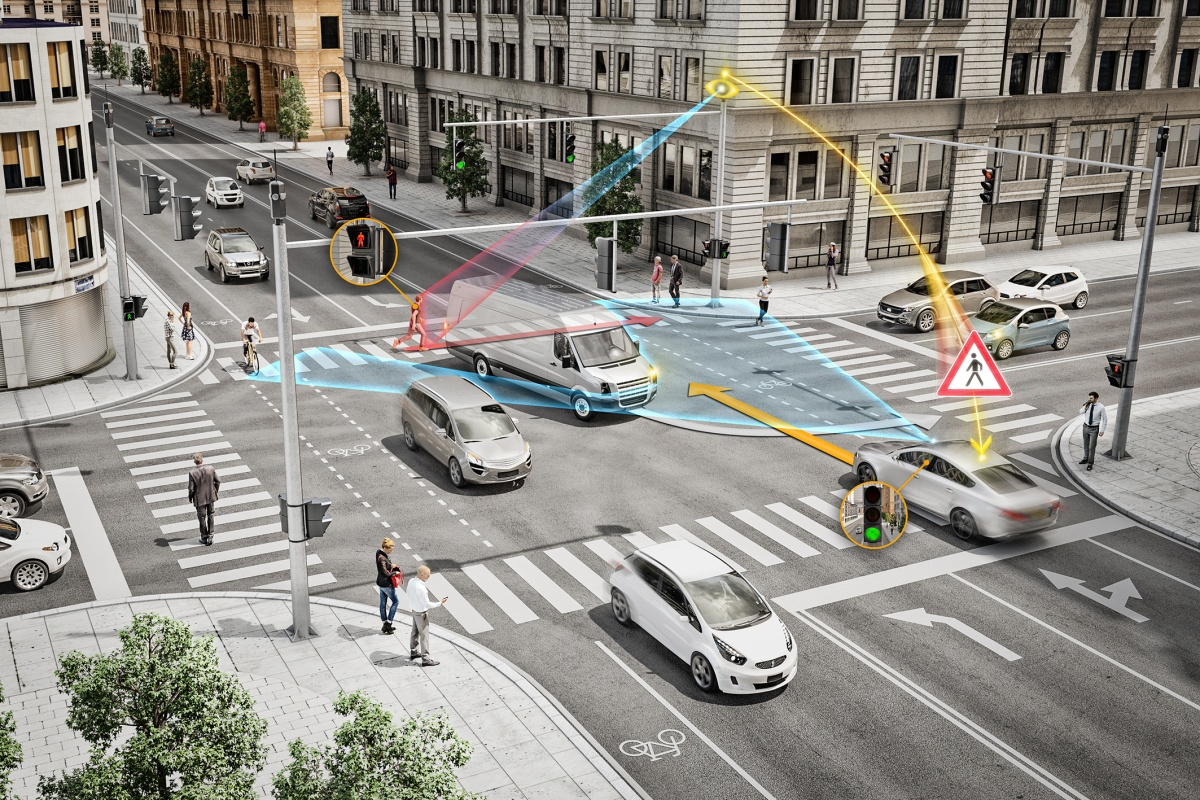 Intersections: Pedestrian-Controlled Traffic Lights