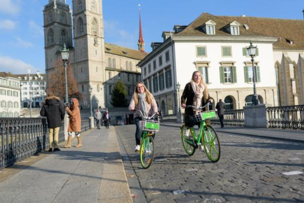 LimeBike launches in EU